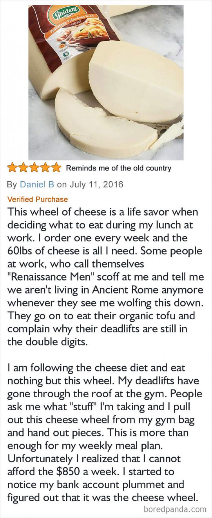 #31 Kinda cheesy.