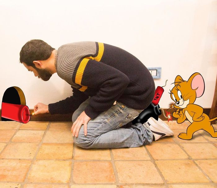 18. Not smart enough to take down Jerry mouse.