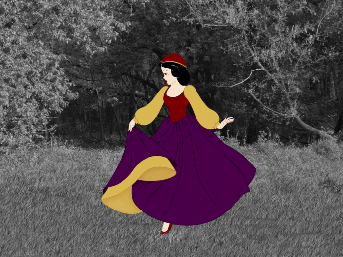 11. Snow White in the Woods