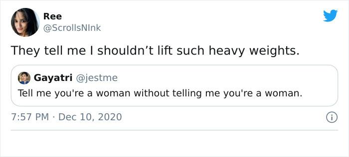 Keep liftin' girl!