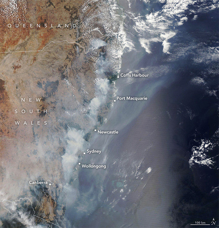 It's unbelievably difficult to grasp just how disheartening the extent of these fires are.
