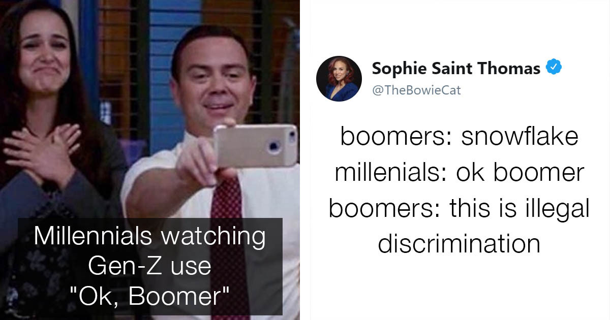 "Hilarious ""Ok, Boomer"" Jokes That Would Pretty Much Work In Any Situation"