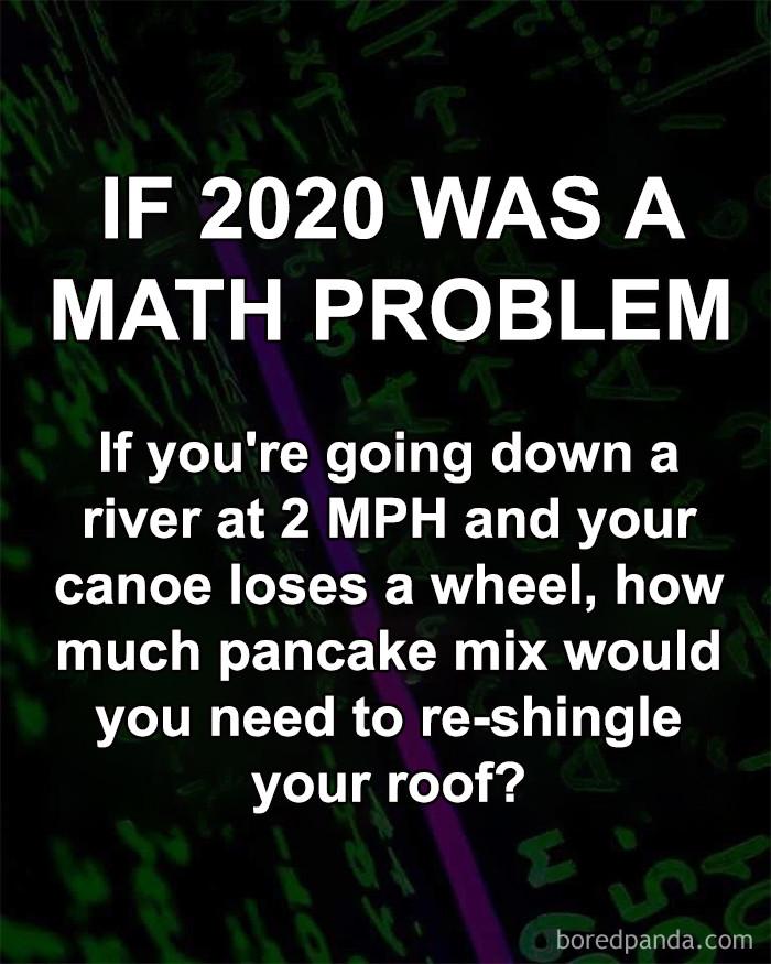 ...a math problem