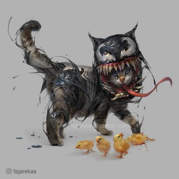 6. Venom Cat