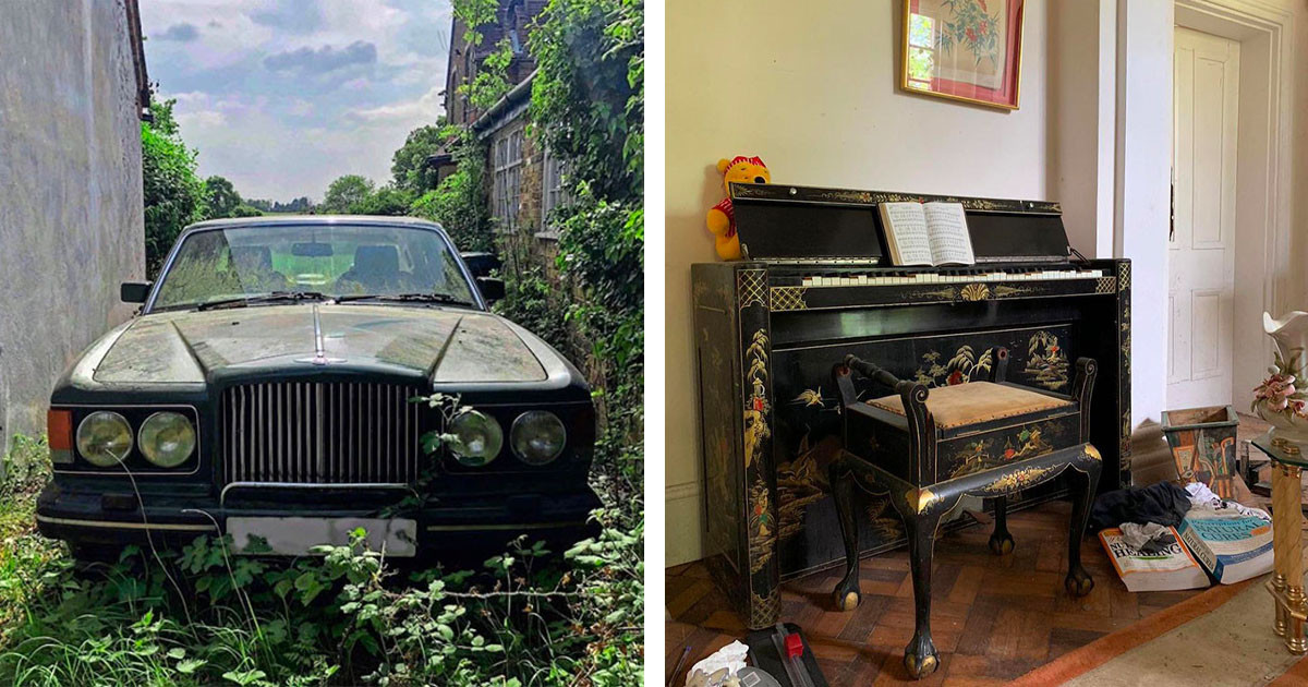 Owners Of Beautiful Mansion Mysteriously Flee And Leave Behind All Of Their Belongings