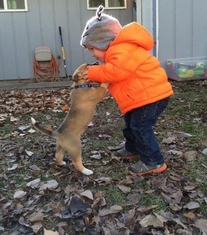 A My Size Puppy!