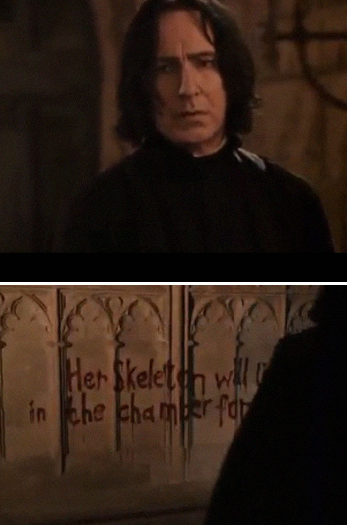Snape worries for Ginny.