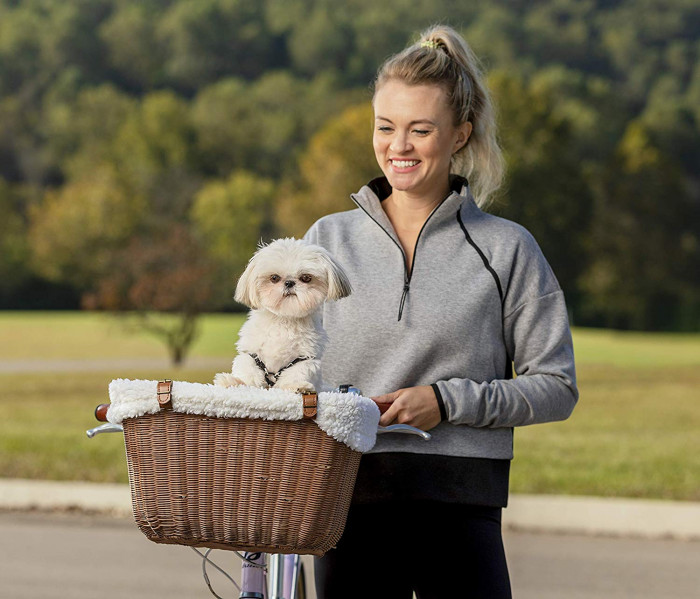 4. A Pet Safe Bicycle Basket - $54.95 USD
