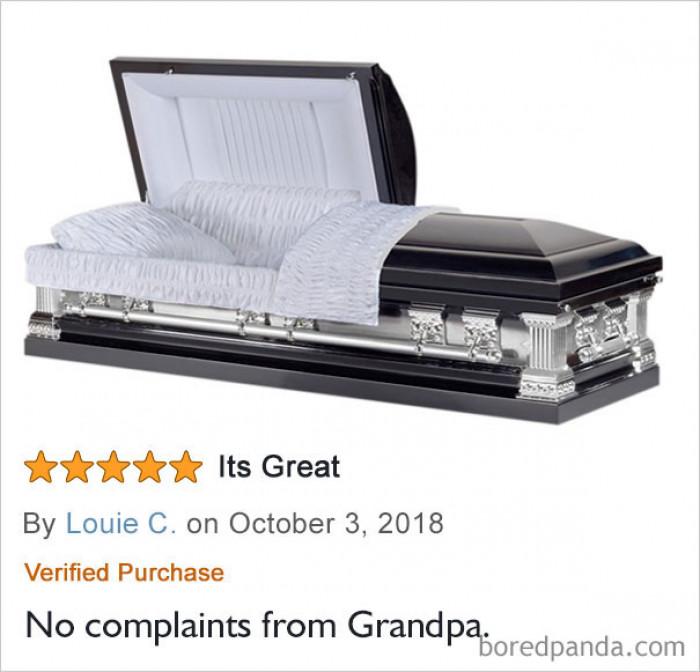#12 No Complaints