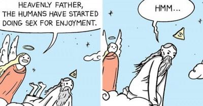 45 Hilarious Comics With Unexpected Endings By War And Peas