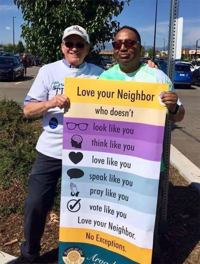 LOVE YOUR NEIGHBOURS!!