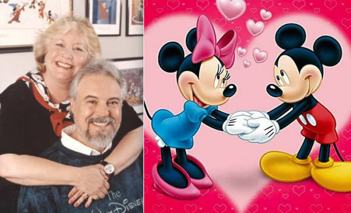 19. Wayne Allwine and Russi Taylor, who gave voices for Mickey and Minnie Mouse, were a married couple in real life also.