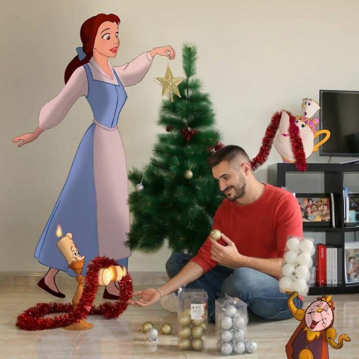 18. Christmas magic...