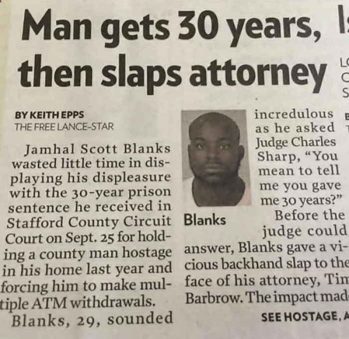 15. I mean if your attorney promises to get you off and then this happens...
