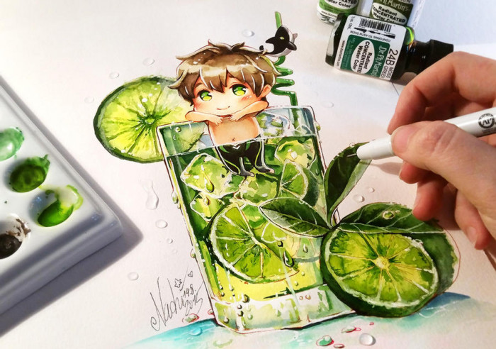 5. Makoto Tonic Summer Splash (Iwatobi Swim Club)