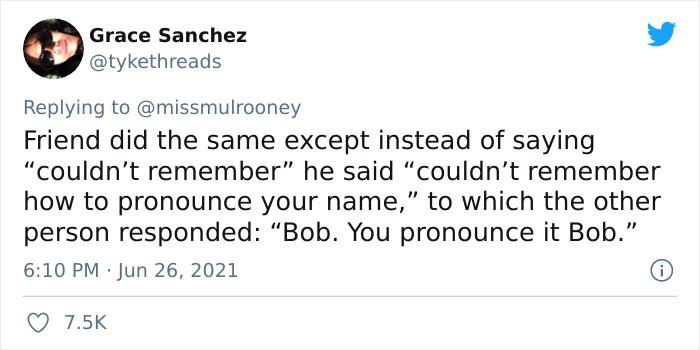5. Bob, pronounced as Bob