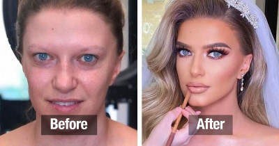 Before & After Bridal Makeup Transformations By A World Renowned Makeup Artist