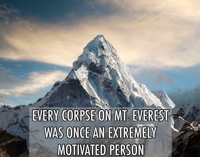 3. Motivation kills
