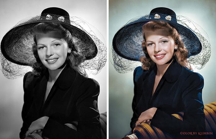#30 Rita Hayworth