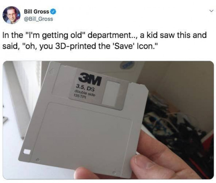 Floppy disks used to break so easily