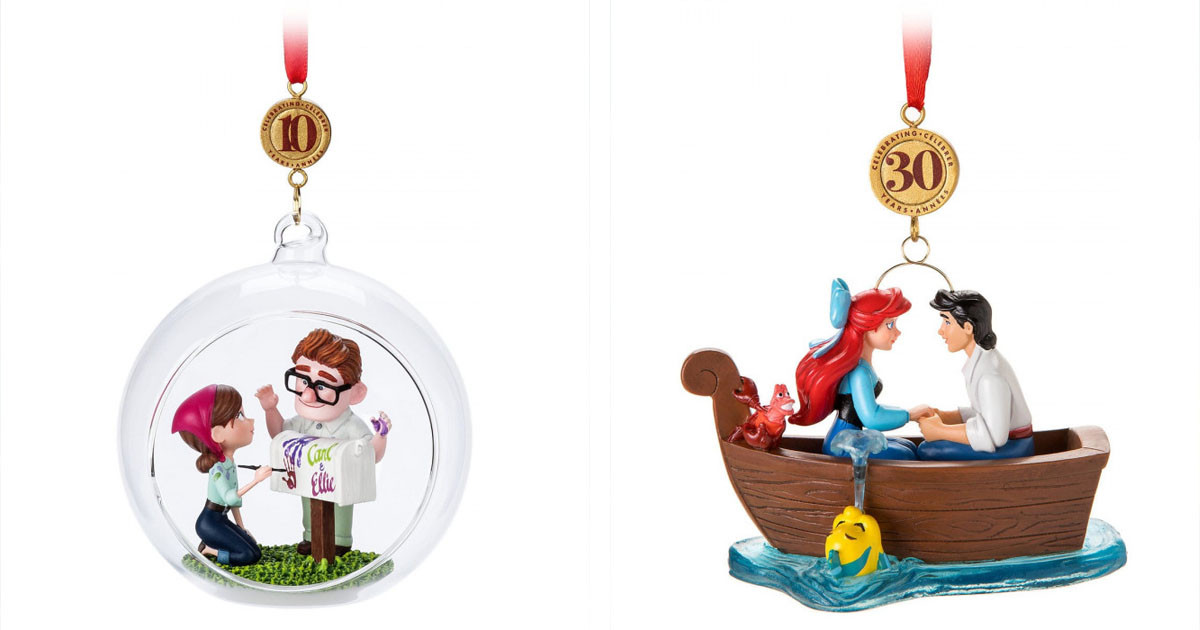 This Year's Disney Christmas Ornaments Have Dropped In July & You'll Want To Screen-Grab Them All