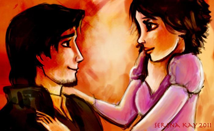 21. Rapunzel and Eugene