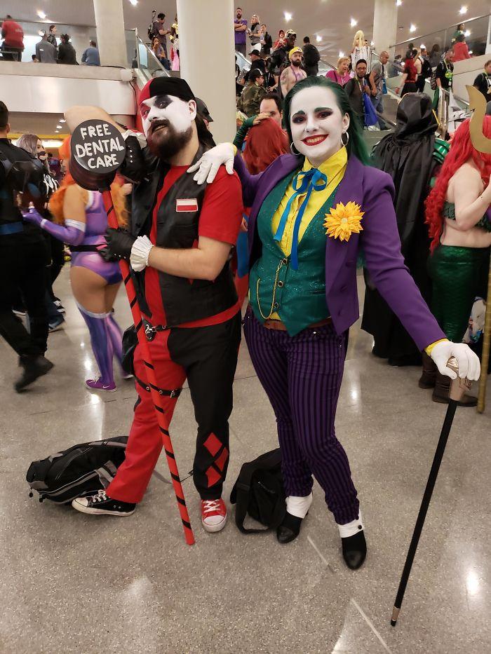11. The Joker and Harley Quinn