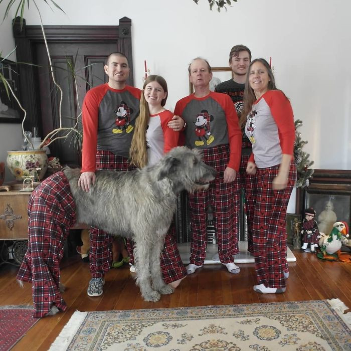 #9 Christmas Morning PJ's