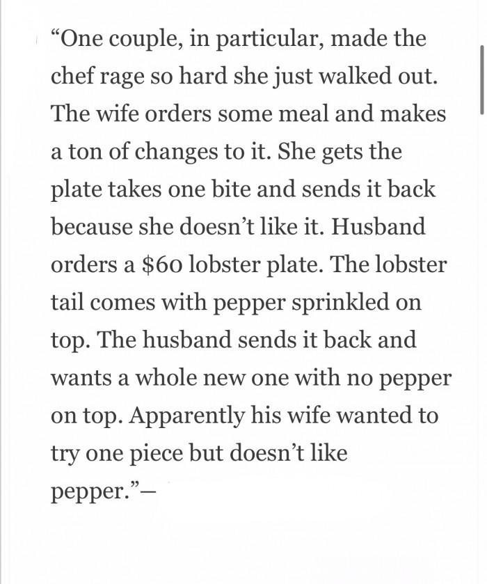 .... Doesn't like pepper.