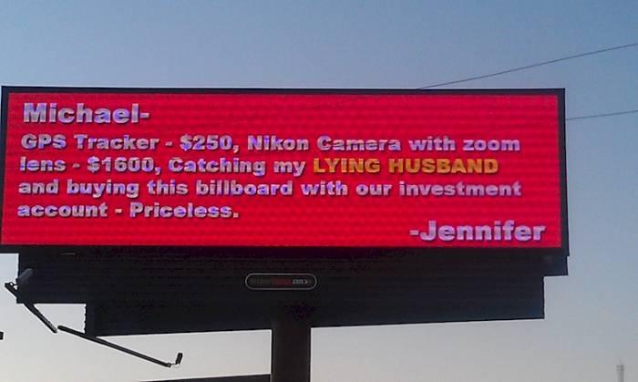 9. This Billboard = Priceless