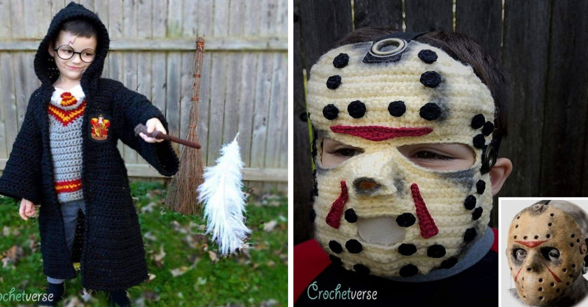 This Woman Crochets Halloween Costumes For Her Kids, And They're Epic