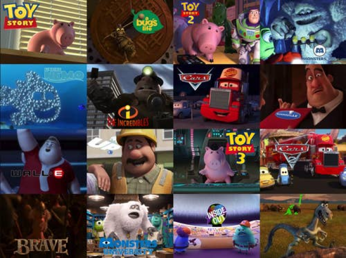 17. John Ratzenberger is the only actor that gave voice to a character in every movie Pixar ever made.