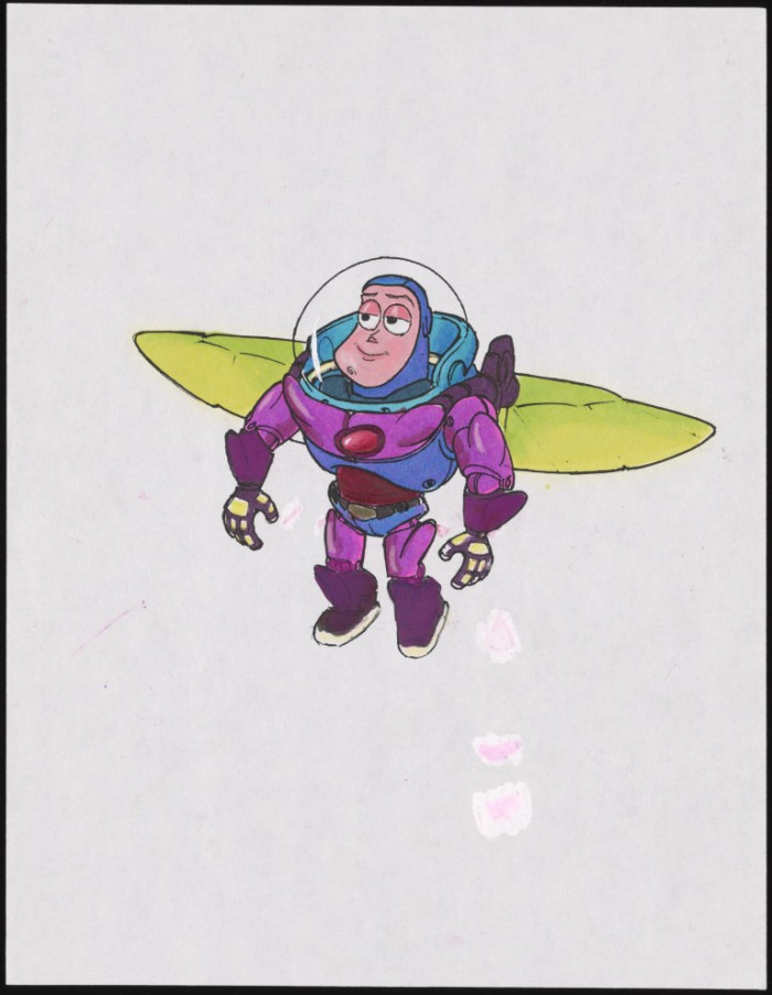 This drawing is the closest thing to the actual Buzz Lightyear we have today