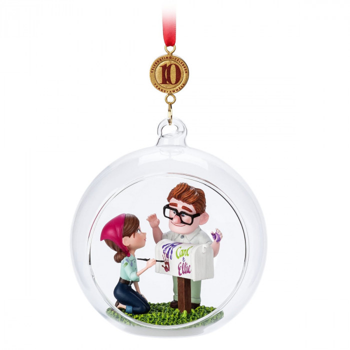 Carl and Ellie Legacy Sketchbook Ornament - Up - Limited Release for $19.95