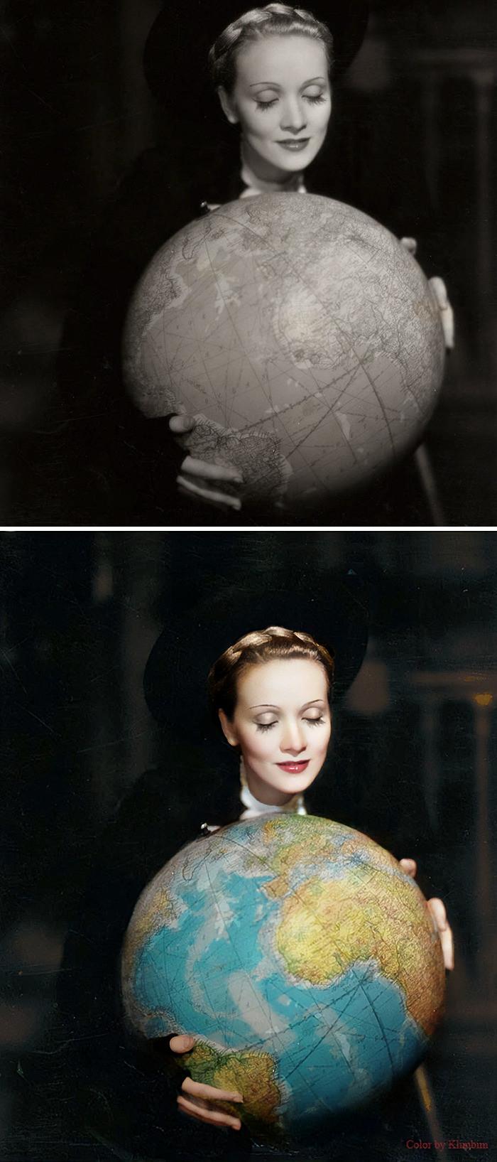 #15 Marlene Dietrich