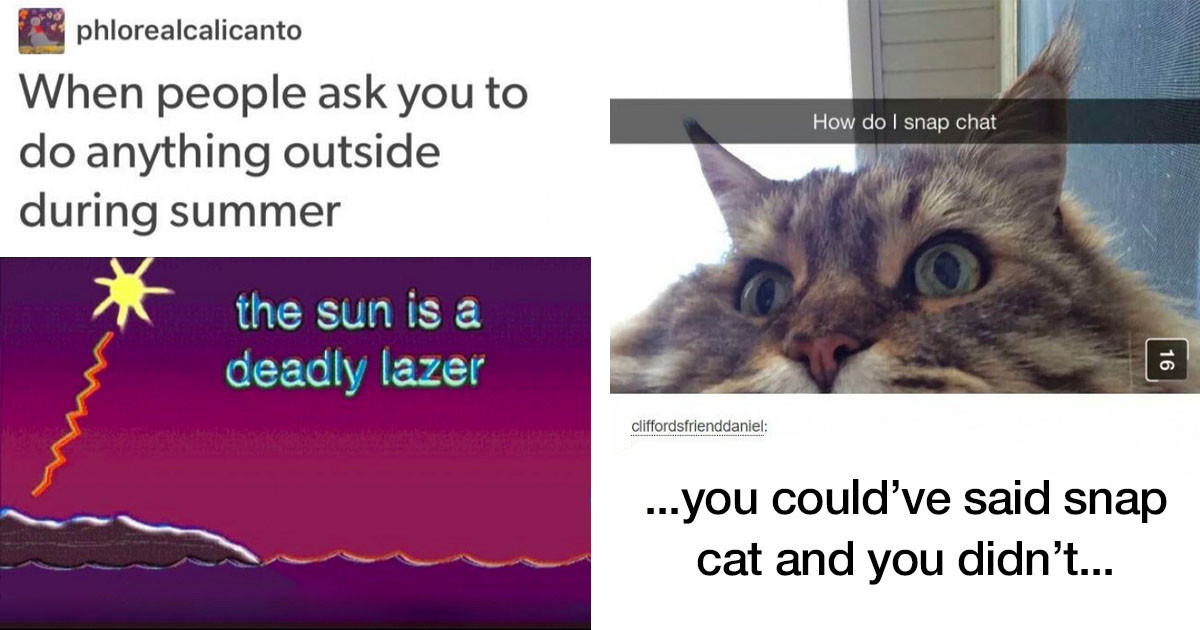 12 Funny Non-Corona-Virus Related Memes & Tweets For People Who Just Want To Laugh At Random Stuff