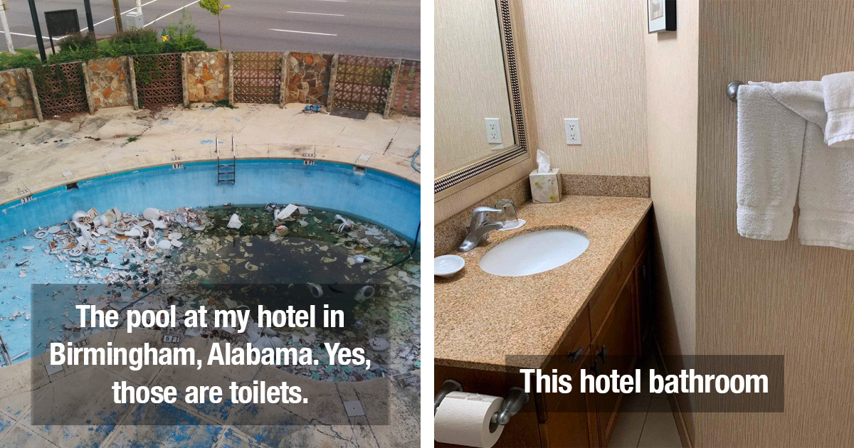 Hotel And Airbnb Fails Are Just Embarrassing And Almost Painful To See