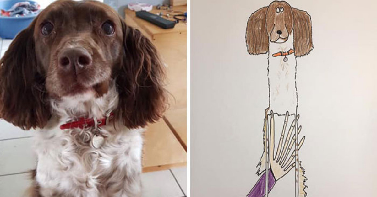 30 Badly Drawn Animal Portraits That Look Like Masterpieces