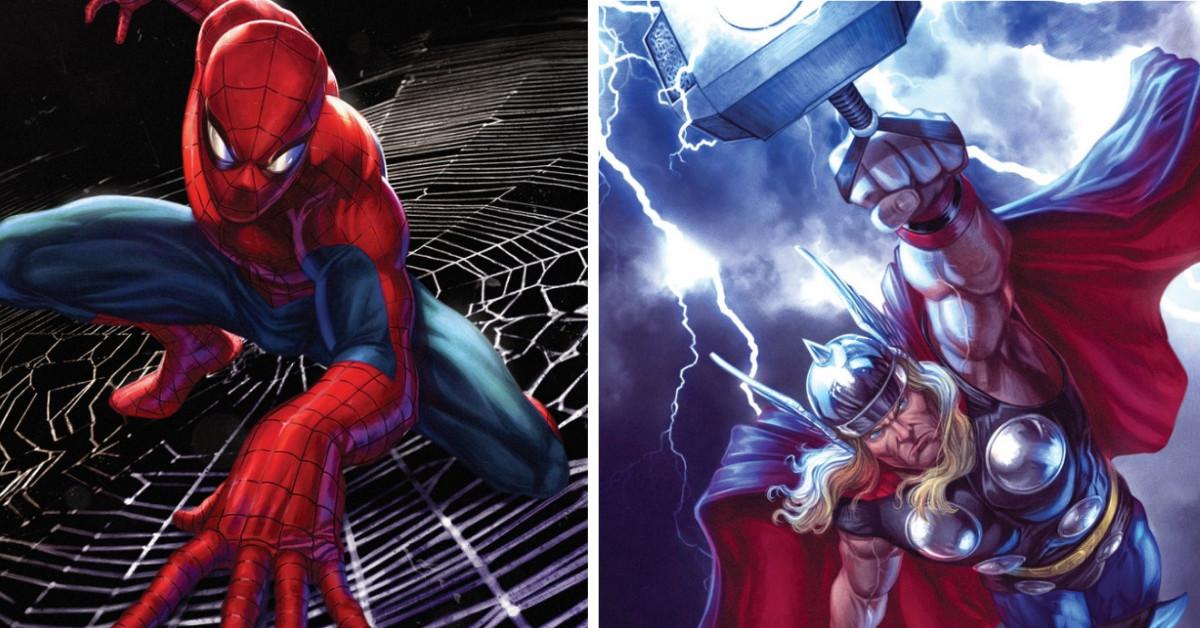 Brazilian Artist Creates The Most Epic Superhero Fan Art And Marvel Comic Book Covers