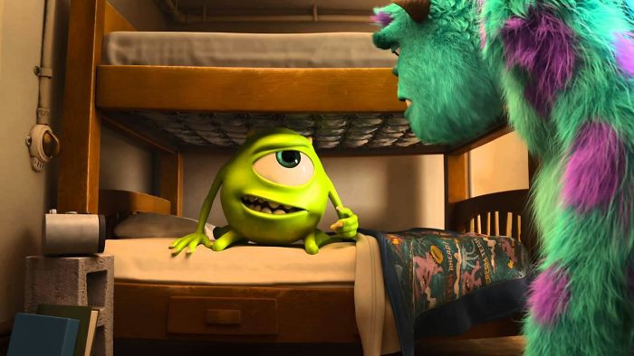'In Monsters U Power Comes From Screams Which Appear As A Gaseous State In The Scream Tanks. Because Power Here Is A Gas, Light Switches Are Valves And Instead Of Wires There Are Pipes.'