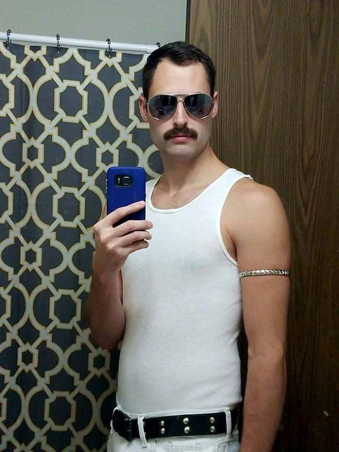 #28 Freddy Mercury Halloween Costume