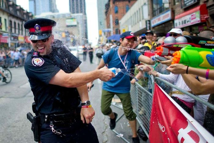 4. Canadian police brutality