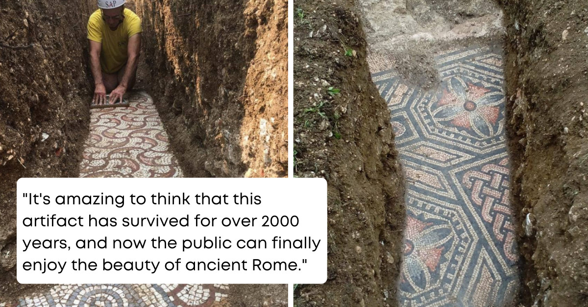 2000-Year-Old Roman Artifact Discovered By Archeologists In Northern Italy, But What Stunned Scientists Is How It Has Remained In Perfect Condition Throughout The Centuries