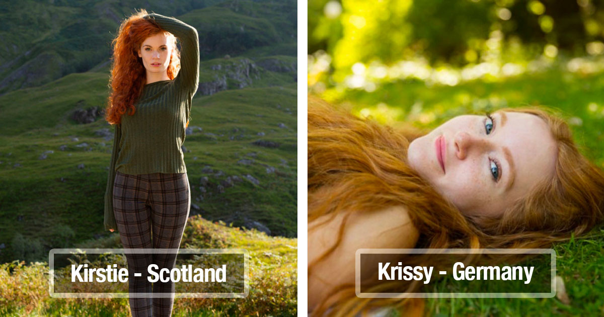 Photographer Takes Pictures Of 37 Redheads On His Travels Around The World To Show The Incredible Beauty Of Red Hair