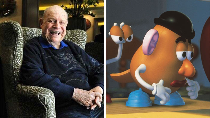 'In 'Toy Story 4', Mr Potato Head Is Voiced Posthumously By Don Rickles (Who Passed Away In 2017).'