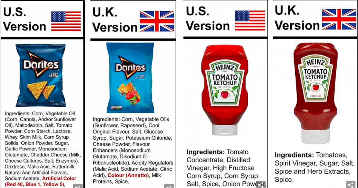 Our Favorite Foods Are So Very Different Whether They're From the US, UK or Australia