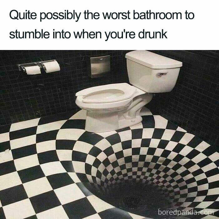 ... a bathroom