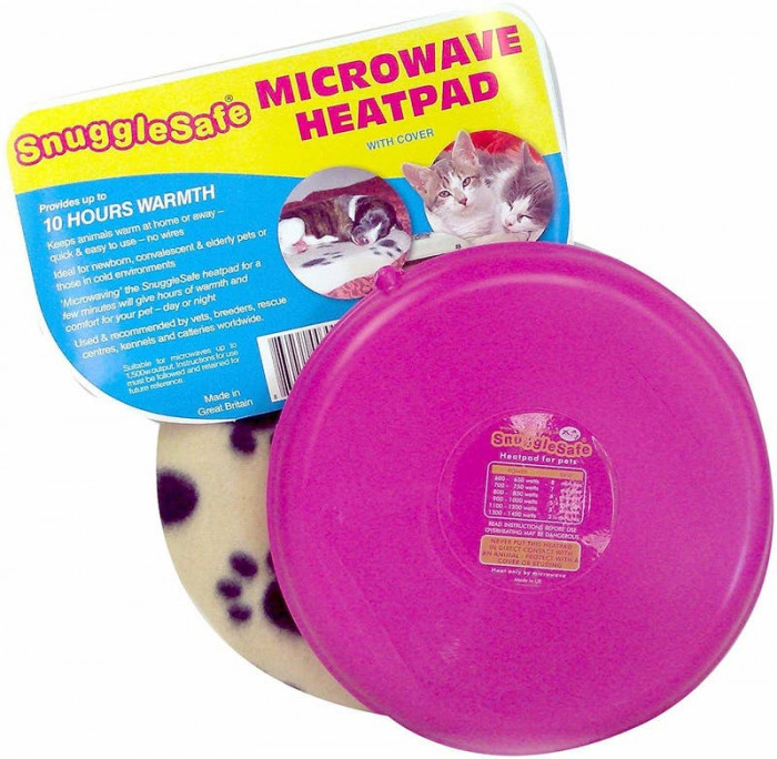 3. Snuggly Heat Pad