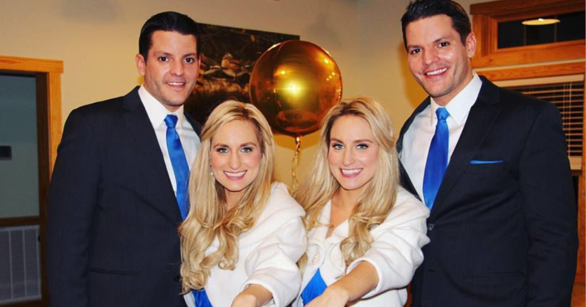 These Identical Twin Sisters Married Identical Twin Brothers And It's The Type Of Story The Internet Has Been Waiting For