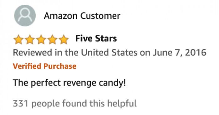 'REVENGE CANDY'